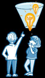 Agile Transformation - Ideen funnel